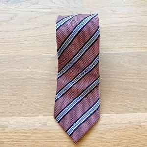 ALEXANDER JULIAN COLOURS Striped Necktie